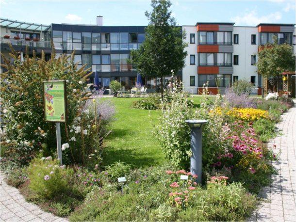 Schmetterlingsgarten Seniorenheim Bad Saulgau , Fotoquelle Stadt Bad Saulgau